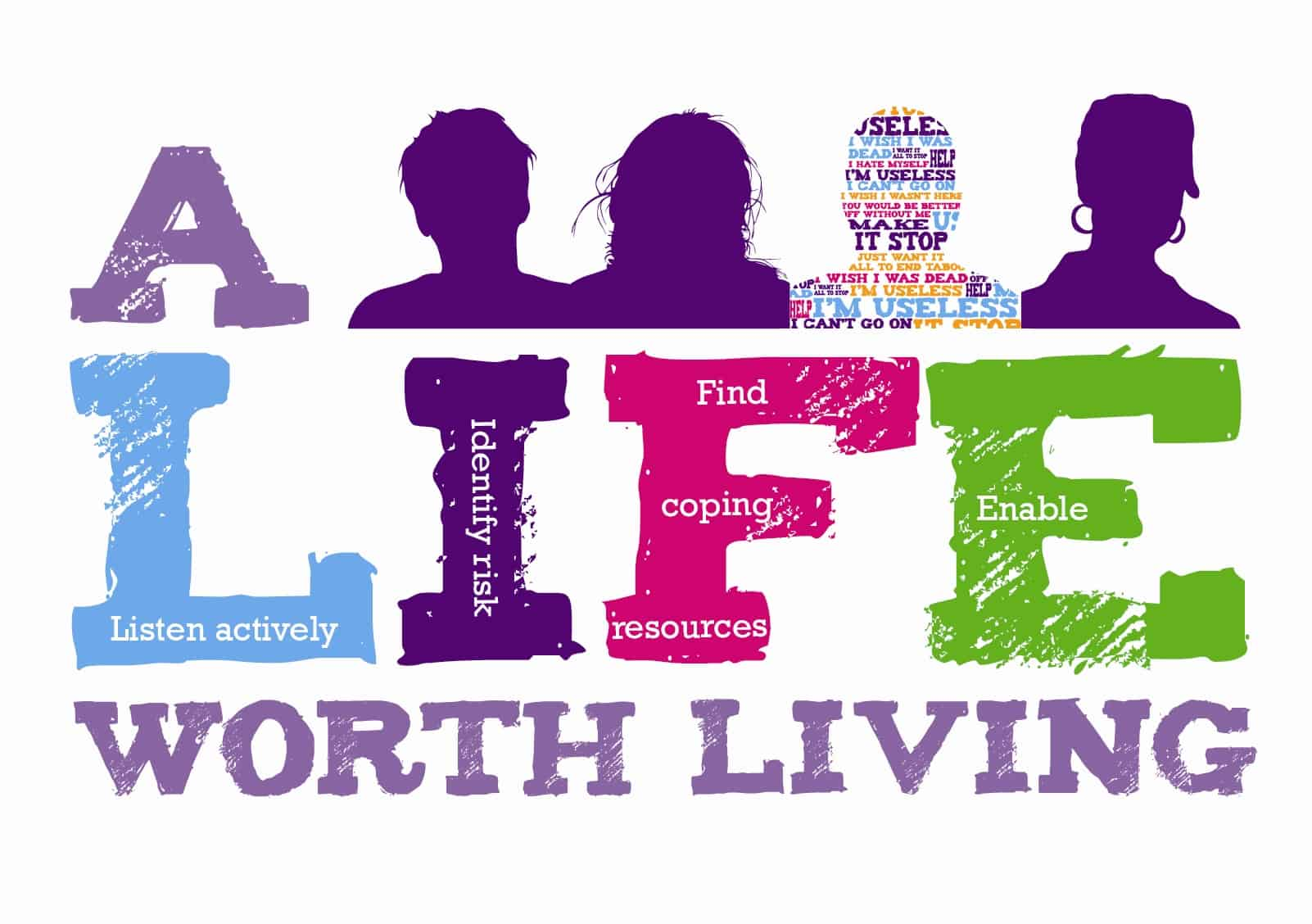 Header image for A LIFE Worth Living Suicide Prevention Training – Sunderland March 2020