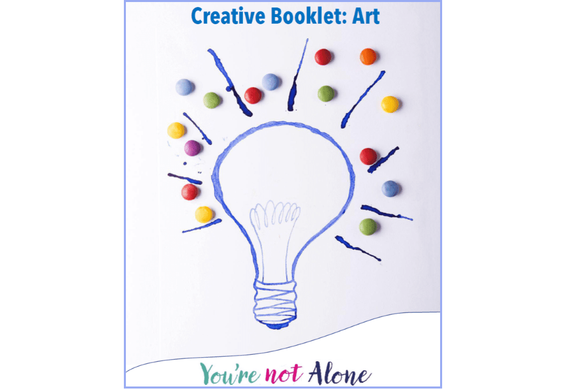 Header image for A creative self-help tool from Washington Mind Young People's Project