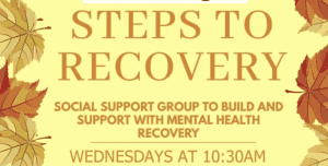 Steps To Recovery @ Washington Mind | England | United Kingdom